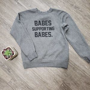Brunette The Label Babes Supporting Babes Sz XS S